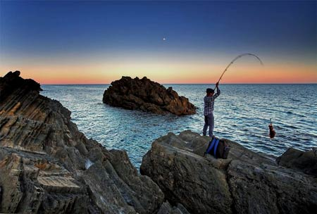 Australia Rock Fishing