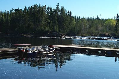 Gouin Reservoir Fishing