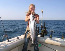 Chinook Salmon fishing charters
