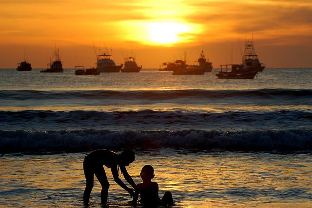 Fishing in Nicaragua San Juan del Sur Beach