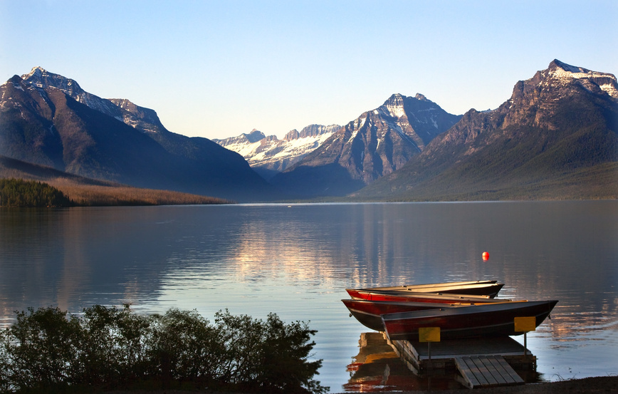 Fishing Glacier National Park Montana