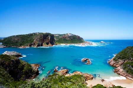 featherbed nature reserve in knysna, south africa fishing