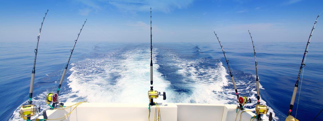 deep sea fishing charters and locations