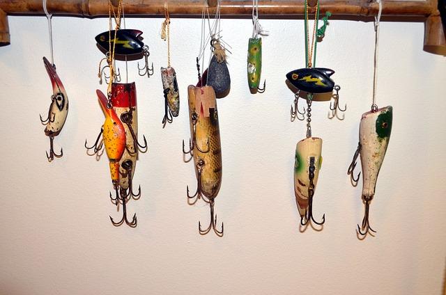 heddon antique fishing lures