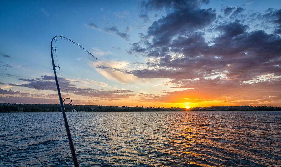 fishing after heavy rain