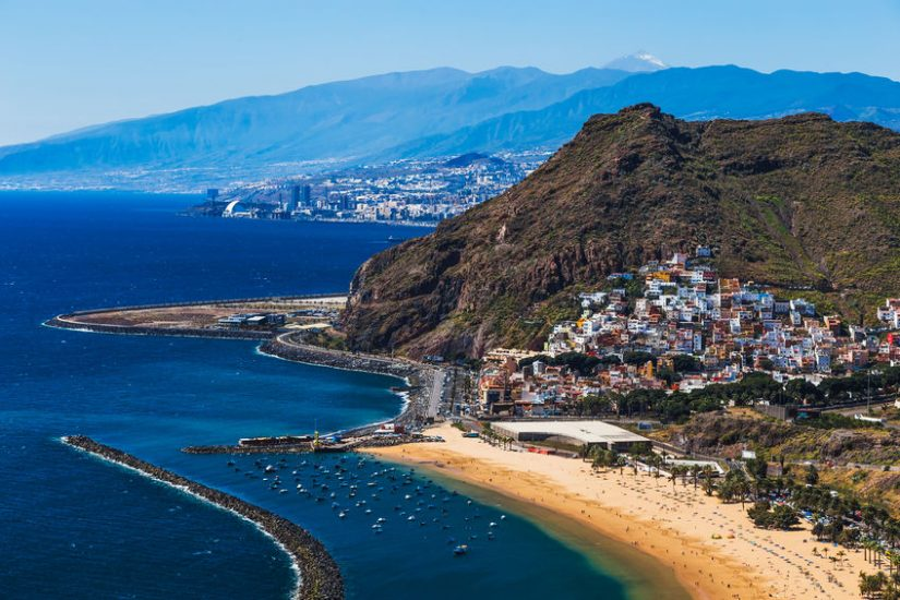 Coast of Tenerife, Canary Islands