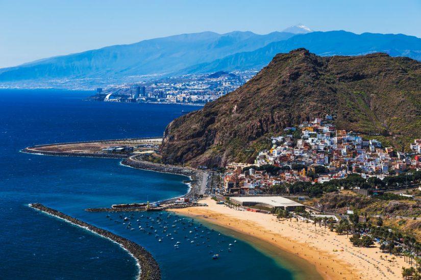 Coast of Tenerife, Canary Islands