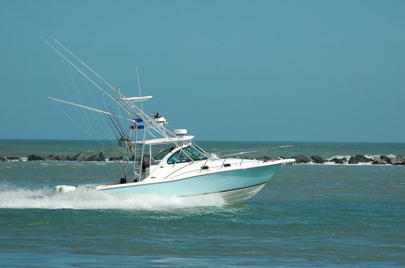 walkaround sport fishing boat