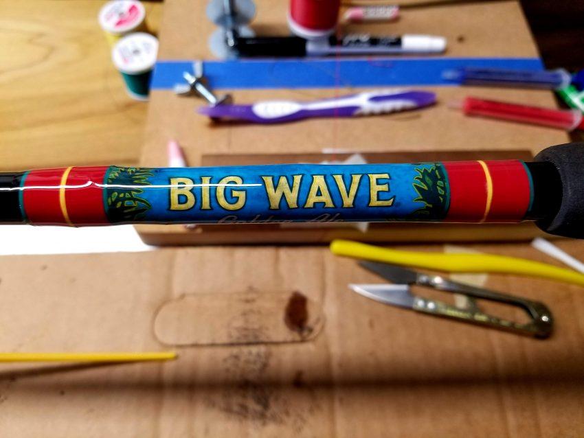 custom rod wrap in Oahu