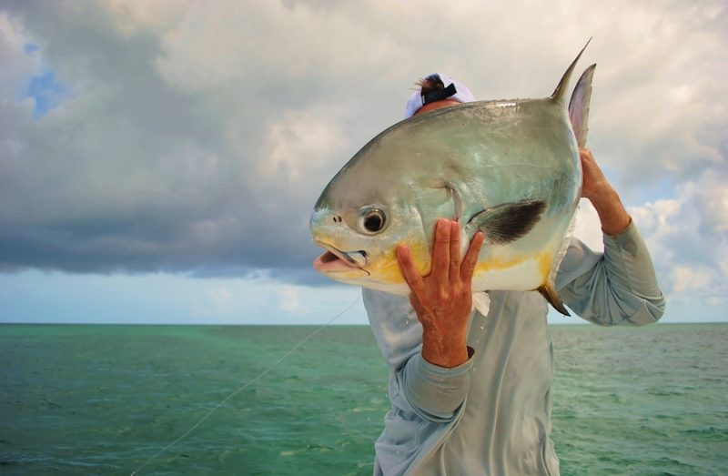 fishing for big permit fish in key west