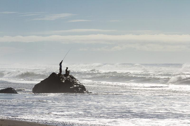 surf fishing southern oregon pacific coast